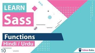 Sass Functions Tutorial in Hindi / Urdu