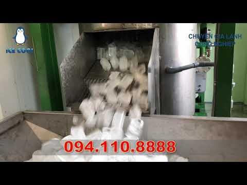 Máy làm đá viên tinh khiết ICE COOL 5 tấn lắp đặt tại Thăng Bình, Quảng Nam