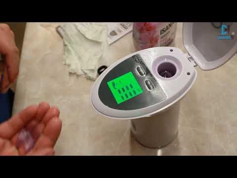 SilverCrest - Automatic soap dispenser - unboxing & test  - #Lidl