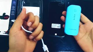 İphone 7/8 Case Power Bank 6000 mAh