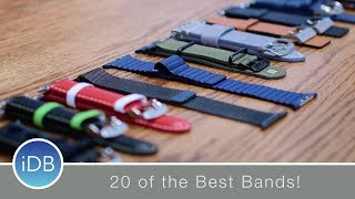 The Ultimate Apple Watch Band Roundup - 20 Bands from Nomad, Apple, Grovemade, & More