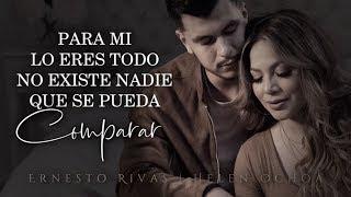 (LETRA) ¨CUERPO Y ALMA¨   Ernesto Rivas & Helen Ochoa (Lyric Video)