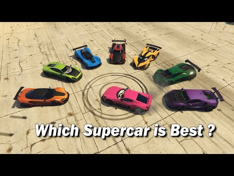 GTA V Online Which Supercar Is Best | 2018 Final Answer
