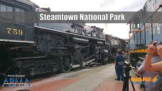 Steam Locomotive Lovers Dream! Steamtown National Historic Site