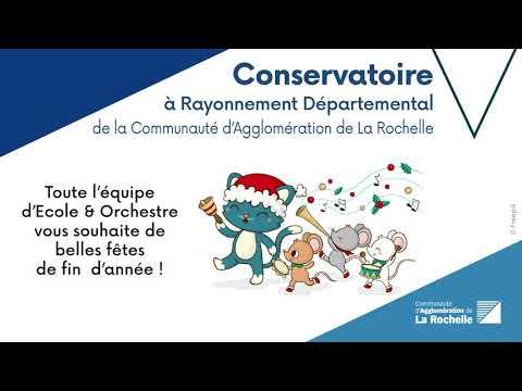 Vidéo - Ecole & Orchestre vous souhaite de belles fêtes de fin d'année !