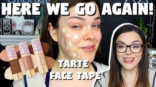 Did Tarte Get it Right This Time?! | Tarte Face Tape First Impressions & Wear Test!