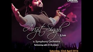 Mast Magan-Arijit Singh Live in Symphony Orchestra Singapore 2016