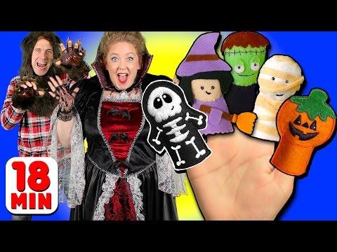 Halloween Finger Family & More Finger Family Songs | Daddy Finger Collection