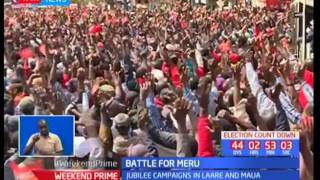 UhuRuto campaign to consolidate Meru vote a week after NASA tour of the area