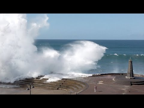The Natural Pools Of Bajamar / The Lighthouse And The Big Wave! Tenerife Travel Blog