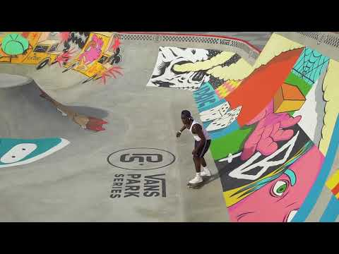 Zion Wright  at Vans Park Series America's Continental Championships 2018