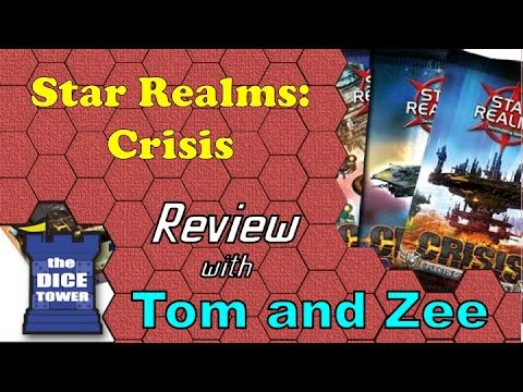 Dice Tower Reviews: Star Realms: Crisis