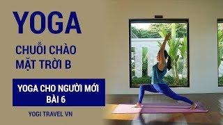 Yoga cho người mới, bài 6 - Chuỗi chào mặt trời B | Tập Yoga tại nhà