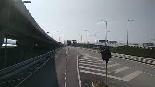 Hong Kong Bus Cityflyer 6831 @ A22 城巴機場快線 Alexander Dennis Enviro500 MMC New Facelift 機場地面運輸中心 藍田站