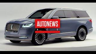 Lincoln представила концептуальный внедорожник Navigator Concept