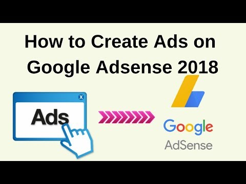 How do i create new ads with google adsense