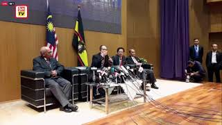 Press conference with Malaysian Anti-Corruption Commission (MACC)