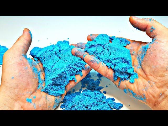 Песок для детского творчества - KINETIC SAND NEON (голубой)