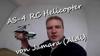 Aldi SÜD / AS-4 Rc Helicopter / Jamara / 3 Channel / 2,4 Ghz / Review Minihelifliegen für die Bude