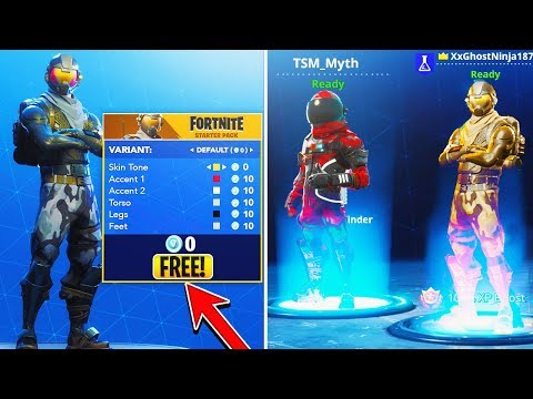 How To CUSTOMIZE ALL FREE SKINS Update in Fortnite! - NEW