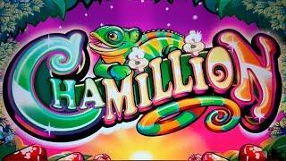 Chamillion Slot - NICE SESSION, ALL BONUS FEATURES!