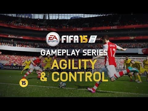 FIFA 15 – gameplay video Obratnost a ovládání