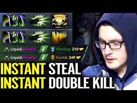 Miracle- Rubbick Support Mode - 10k Support Ranked Dota 2 Rubbick Fun game