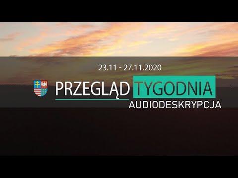 Tygodniowy skrót wydarzeń z regionu (wersja z audiodeskrypcją)