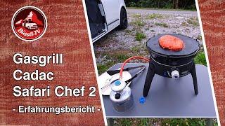 Gasgrill Cadac Safari Chef 2 | Erfahrungsbericht | VW T6 California | #BüssliTV