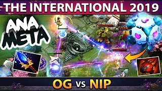 EVERYTHING CAN WORK IN DOTA 2! OG.ana Carry IO (Wisp) BREAKING THE TI9 META - WTF IS HAPPENING?!