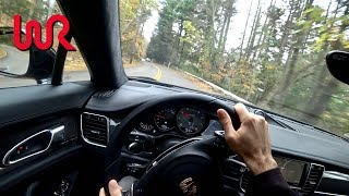 2014 Porsche Panamera GTS - Tedward POV Test Drive (Binaural Audio)