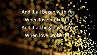 Love Broke Thru by TobyMac