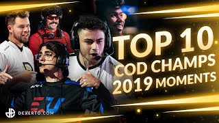 TOP 10 Plays from CoD Champs 2019
