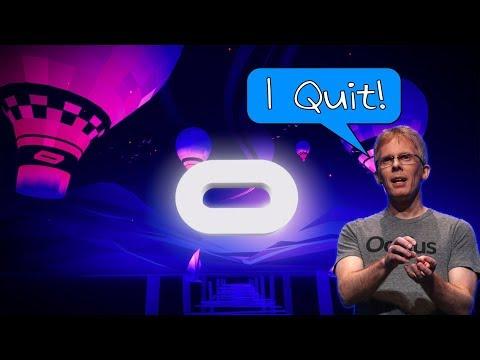 Oculus & Unity Release 20hour VR Course + John Carmack Leaving Oculus