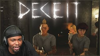 They All Think I'm Infected  - Deceit Gameplay