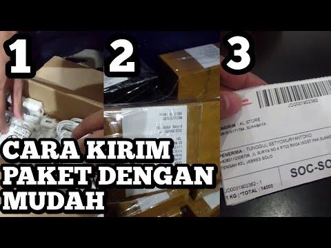 Cara Mengirim Paket & Packing Barang Sesuai Standard JNE J&T TIKI NINJA POS Atau Kurir Lain | Mudah