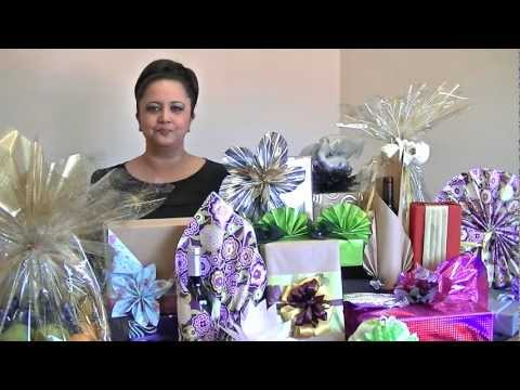Introduction On-line Gift Wrapping Courses - Gift Wrapping Class ...