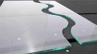 10mm glass cutting || How to stylish glass cutting... H95Tv