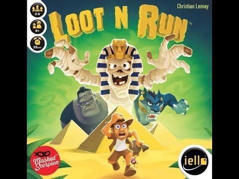 The Purge: # 1473 Loot N Run: Another Press Your Luck Game; But Is It Worth Your Cash?