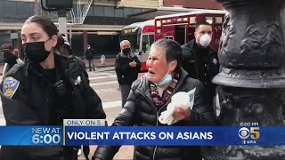 Witnesses Say Elderly Asian Woman Beats Up Attacker