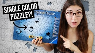 So how hard is the Ravensburger Krypt puzzle, really?