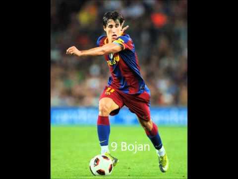 The Dream Team Of FC Barcelona 2011