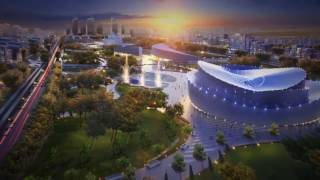 Шымкент. Shymkent City. Проект. Город будущего.