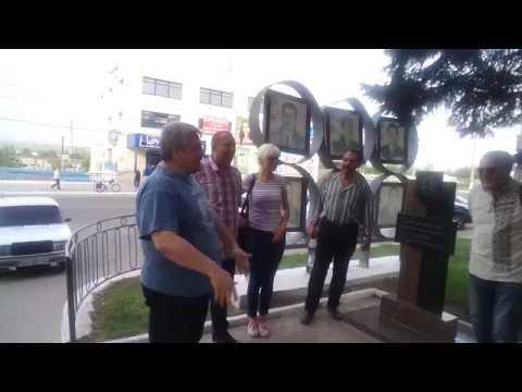 ВДружковке мэр города самовольно убрал памятный знак погибшим занезависимость Украины