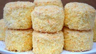 ПИРОЖНЫЕ БИСКВИТНО-КРЕМОВЫЕ Потрясающе Вкусные и Нежные! ☆ Cupcakes with butter cream ☆ Марьяна