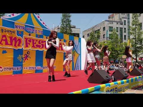 190505 에이프릴 April - 팅커벨 Tinkerbell 직캠Fancam @ 인천동구어린이 드림페스티벌 Incheon Children's Dream Festival 2019