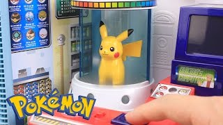Download Youtube: Pokemon GO Surprise Eggs Toys Slime Clay With Pokemon Center Playset