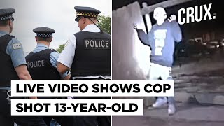 Chicago Officials Release Graphic Video Of Police Shooting 13-year-old Latino Boy Adam Toledo