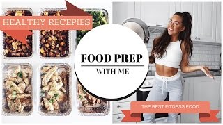 PREPARE FITNESS FOOD FOR A WEEK | WHAT I EAT & RECIPES | BIG FOOD PREP |
