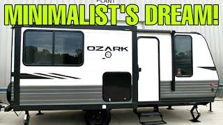 MINIMALISTS DREAM Travel Trailer RV! Ozark 1800QS